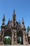 drewno cmentarza bramy w Brooklyn Obrazy Royalty Free