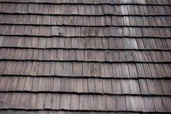 Drewno dach Zdjęcie Stock
