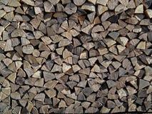 Drewno dla kominka Fotografia Royalty Free