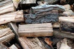 Drewno dla kuchenki Zdjęcia Royalty Free