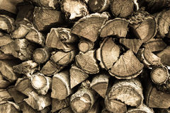 Drewno dla ogienia Fotografia Stock