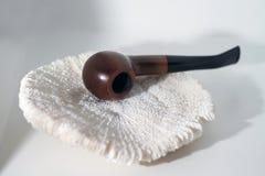 Drewno drymba odizolowywająca na bielu zdjęcie royalty free