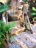 Drewno huśtawka fotografia stock