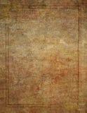 Drewno Jak tło z Narożnikową projekt granicą Obraz Stock