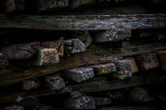 Drewno kawałki Fotografia Royalty Free