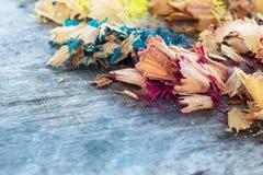 Drewno kolory Zdjęcie Stock