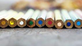 Drewno kolory Obrazy Royalty Free