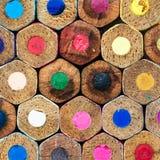 Drewno kolory Zdjęcia Stock