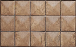 Drewno kwadratowa tekstura Obrazy Stock