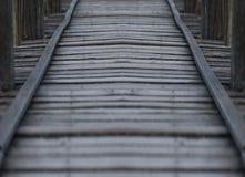 Drewno most Zdjęcia Stock