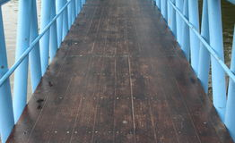 Drewno most obrazy stock