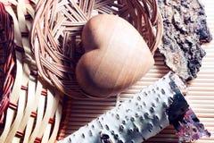 Drewno natura duży prezentem jest Zdjęcie Stock