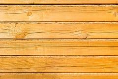 Drewno naturalny wzór Czyści tekstury tło żółty sosnowy drewno Zdjęcie Royalty Free