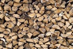 drewno opałowe zdjęcia stock
