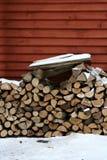 drewno opałowe Fotografia Stock