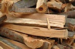 drewno opałowe stosu sprzeciwu Obrazy Royalty Free