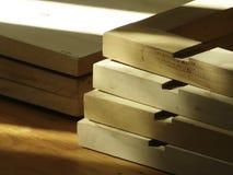 Drewno półki obrazy royalty free