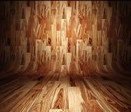 Drewno panel Zdjęcia Stock
