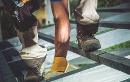 Drewno ramowa budowa Zdjęcia Stock