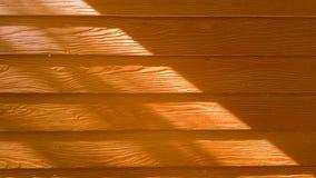 Drewno robić od betonu z słońca światłem Zdjęcia Stock