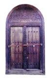 Drewno rzeźbiący portal Obraz Royalty Free