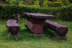 Drewno stół Obraz Royalty Free
