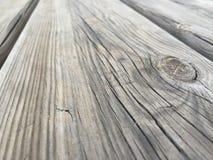 Drewno stół Obrazy Royalty Free