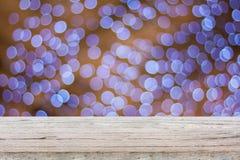 Drewno stół Zdjęcie Stock