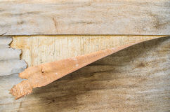 Drewniany lampas Zdjęcia Stock