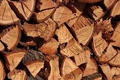 Drewno stos Obraz Stock
