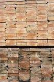 Drewno stosy dla budowy Zdjęcie Stock