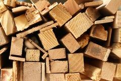Drewno świstek Fotografia Stock