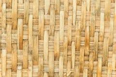 Drewno wyplata tło Zdjęcie Stock