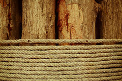 Drewno z arkaną Zdjęcie Royalty Free