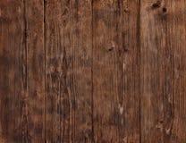 Drewno Zaszaluje teksturę, Drewniany tło, Brown podłoga ściana Obrazy Stock