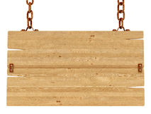 Drewno znak Obraz Stock