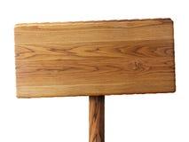 Drewno znak Obraz Royalty Free