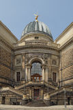 Drezdeńska akademia sztuki, Niemcy Zdjęcia Royalty Free