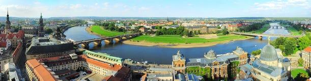 Drezdeńska panorama obrazy royalty free