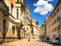 Drezdeński i swój otoczeniu Zdjęcie Royalty Free