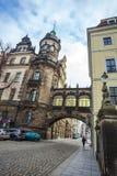 22 01 2018 Drezdeński; Niemcy - Drezdeńska katedra Święty Trin Fotografia Royalty Free