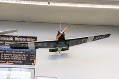 DREZDEŃSKI, NIEMCY - MAI 2015: samolotów transportowych junkiery F 13 1919 i obraz stock