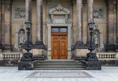 Drezdeński, Niemcy, Sierpień - 4, 2017: Zwinger - opóźniony Niemiecki barok, zakładający w wczesnym xviii wiek kompleks cztery ws Obraz Royalty Free