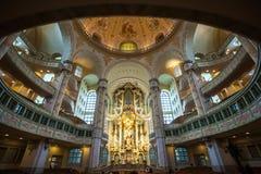 22 01 2018 Drezdeński, Niemcy - Drezdeński, Niemcy Wnętrze Zdjęcie Royalty Free