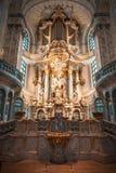 22 01 2018 Drezdeński, Niemcy - Drezdeński, Niemcy Wnętrze Obraz Royalty Free