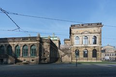 Drezdeński stary miasteczko obrazy royalty free