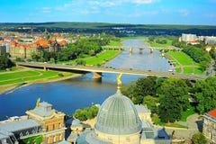 Drezdeńscy mosty, Niemcy Obraz Royalty Free