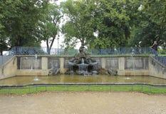 Drezdeński, Niemcy park Obraz Royalty Free