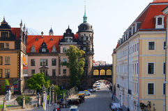 Drezdeński Royal Palace, Niemcy (kasztel) Obraz Stock