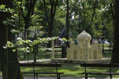 Drezdenko - Miniaturpark Lizenzfreies Stockbild
